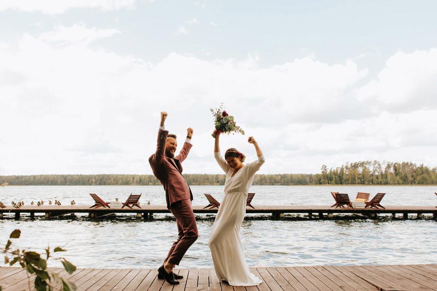 najpiekniejszy first look, rockowe wesele, boho,