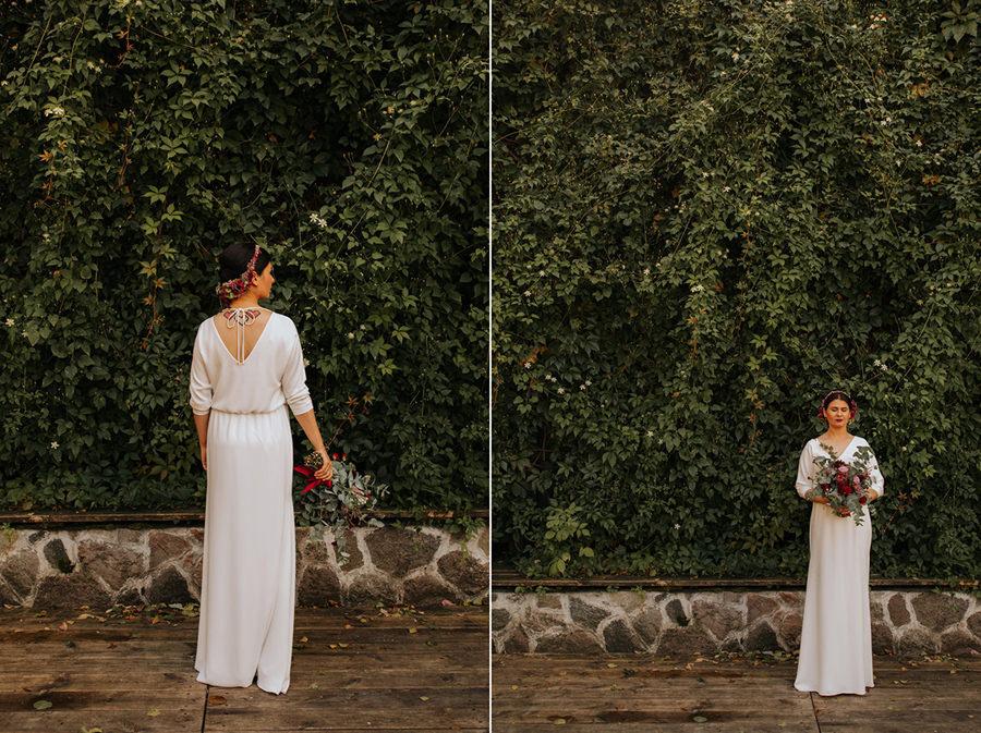 wesele w hotelu jablon, agata wojtkiewicz, boho bride,