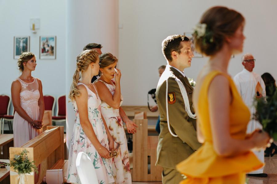 emocje na slubie, wedding photographer warsaw, panna mloda,