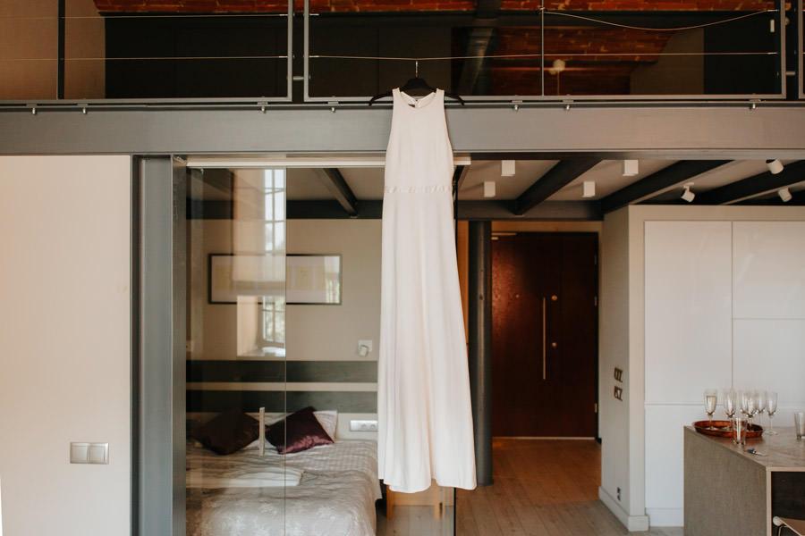 suknia slubna robert czerwik, suknia panny mlodej, industrial wedding in poland,