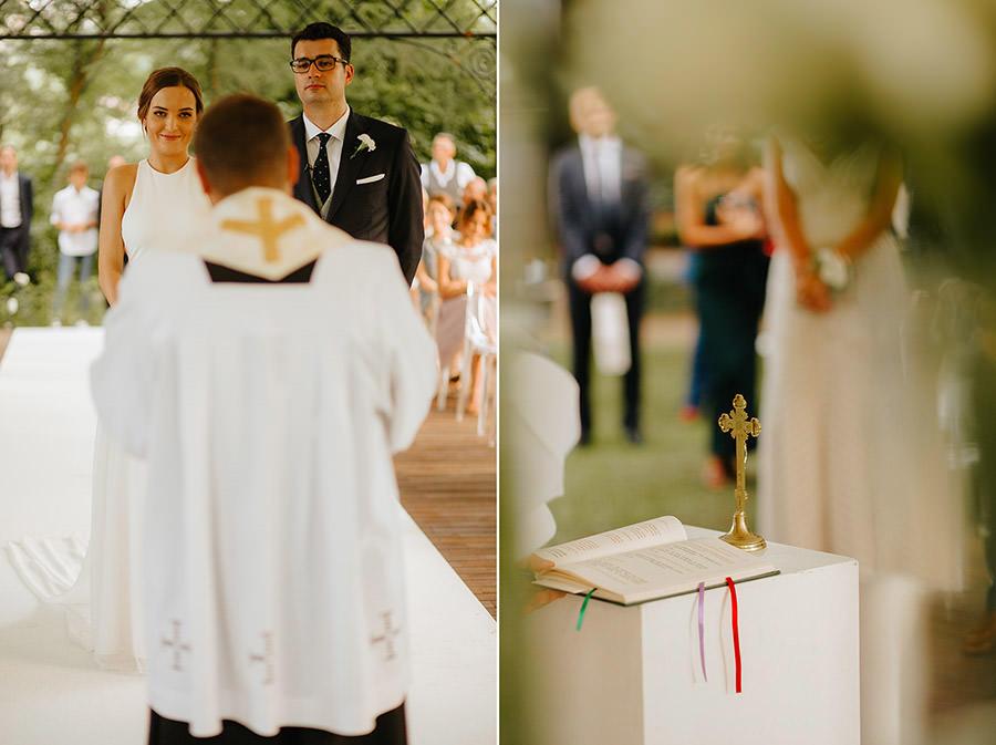 ceremonia koscielna w plenerze, wesele industrialne,