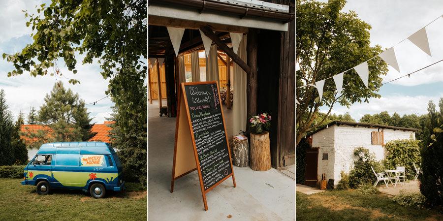 wesele w stodole, dom w przepitkach. ślub humanistyczny