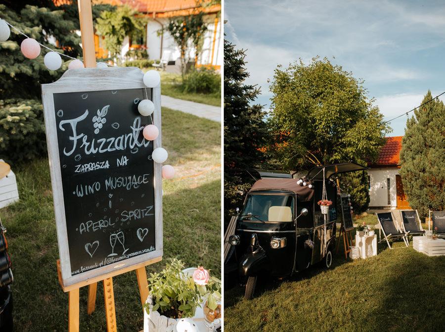 prosecco van, frizzanti, wesele w stodole, atrakcje weselne,