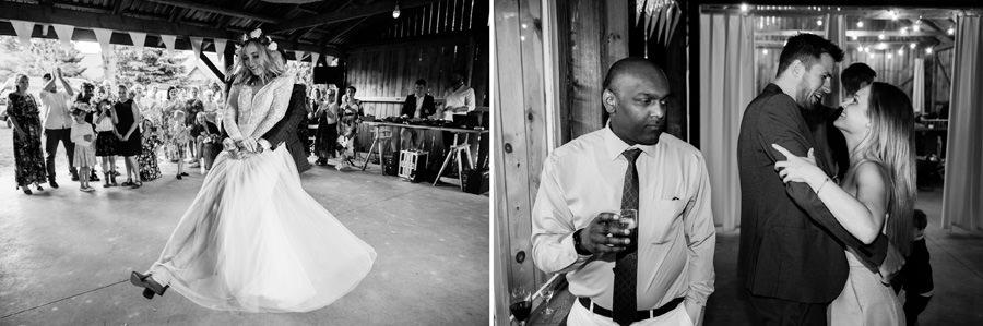 wesele w stodole, niepozowane zdjęcia ślubne,