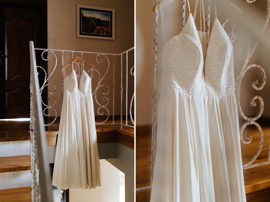 suknia po prostu, suknia ślubna, panna młoda